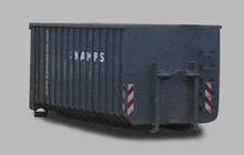 Großraum-Container mit Doppelflügeltür 30 m³
